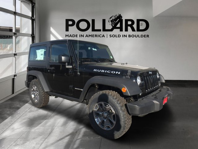 New 2018 Jeep Wrangler Jk Rubicon Sport Utility In Boulder