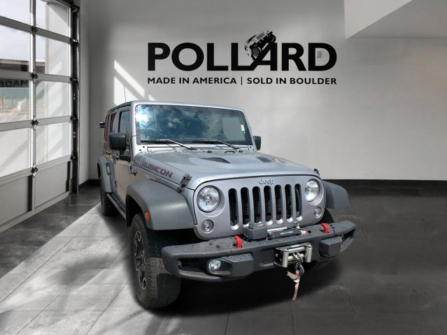 Pre-Owned 2015 Jeep Wrangler Rubicon Hard Rock