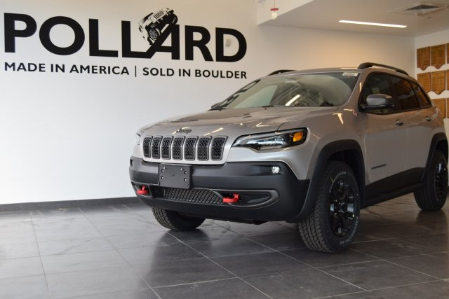 New 2019 JEEP Cherokee Trailhawk Elite Sport Utility in Boulder l