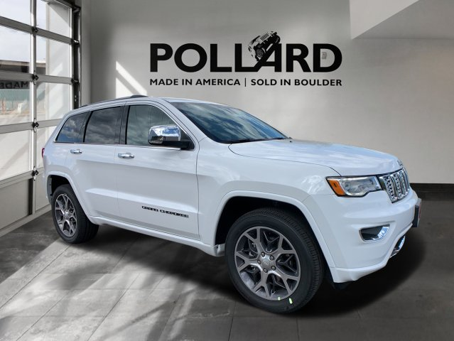New 2020 JEEP Grand Cherokee Overland Sport Utility in ...