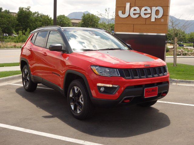 New 2017 Jeep Compass Trailhawk Sport Utility In Boulder L Near