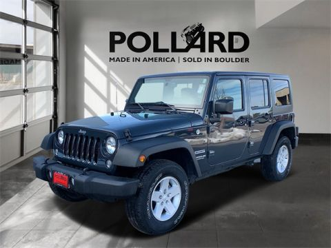 Pre-Owned 2017 Jeep Wrangler