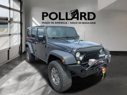 Pre-Owned 2016 Jeep Wrangler Rubicon