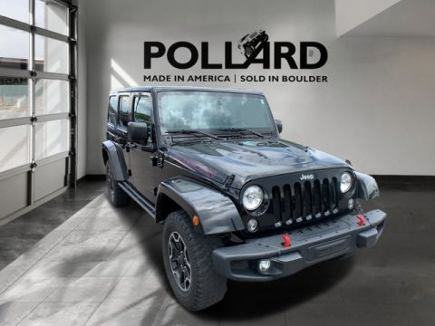 Pre-Owned 2016 Jeep Wrangler Rubicon Hard Rock
