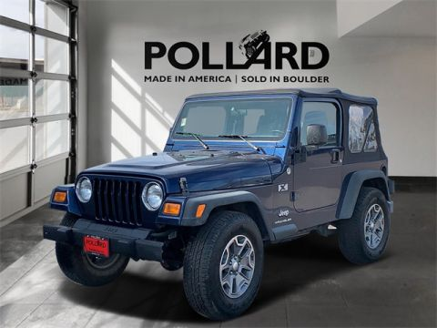 Pre-Owned 2005 Jeep Wrangler X